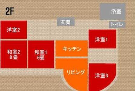 Room for 1〜25 people use/179.9㎡ - Kondominium
