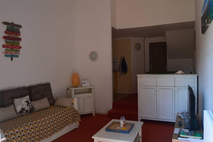 T2 duplex dans résidence de standing