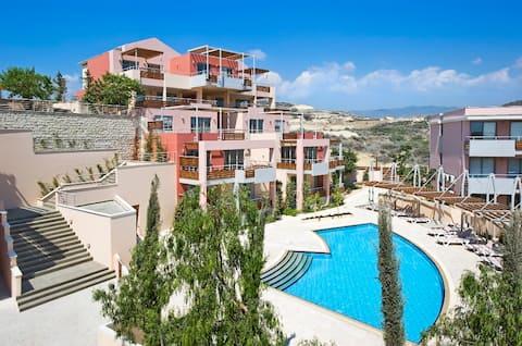 Panoramic SeaView Close to Beach  1B+ Limassol Apt