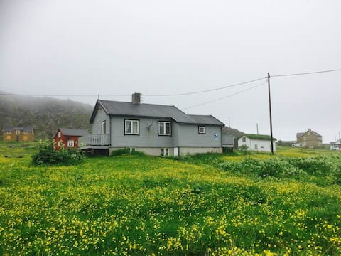 Grandfathers house at the end of Europe, Varanger