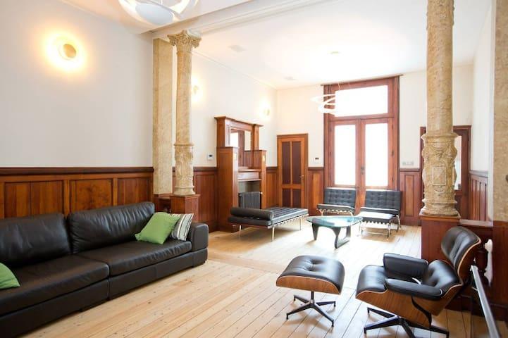 Prachtige Belle Epoque villa. - Blankenberge - Appartement