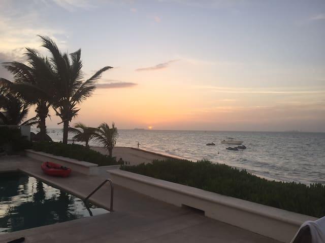 Apartamento frente a la playa - Chicxulub Puerto - Departamento