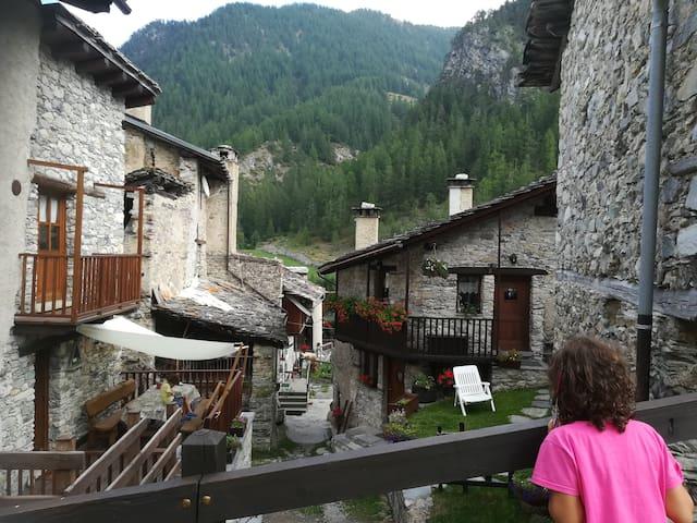 Baita in Alta Val Maira ...un luogo dello spirito!