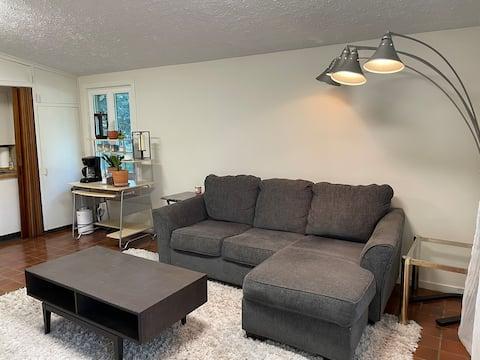 Retro Guest Suite in Mid Century Home
