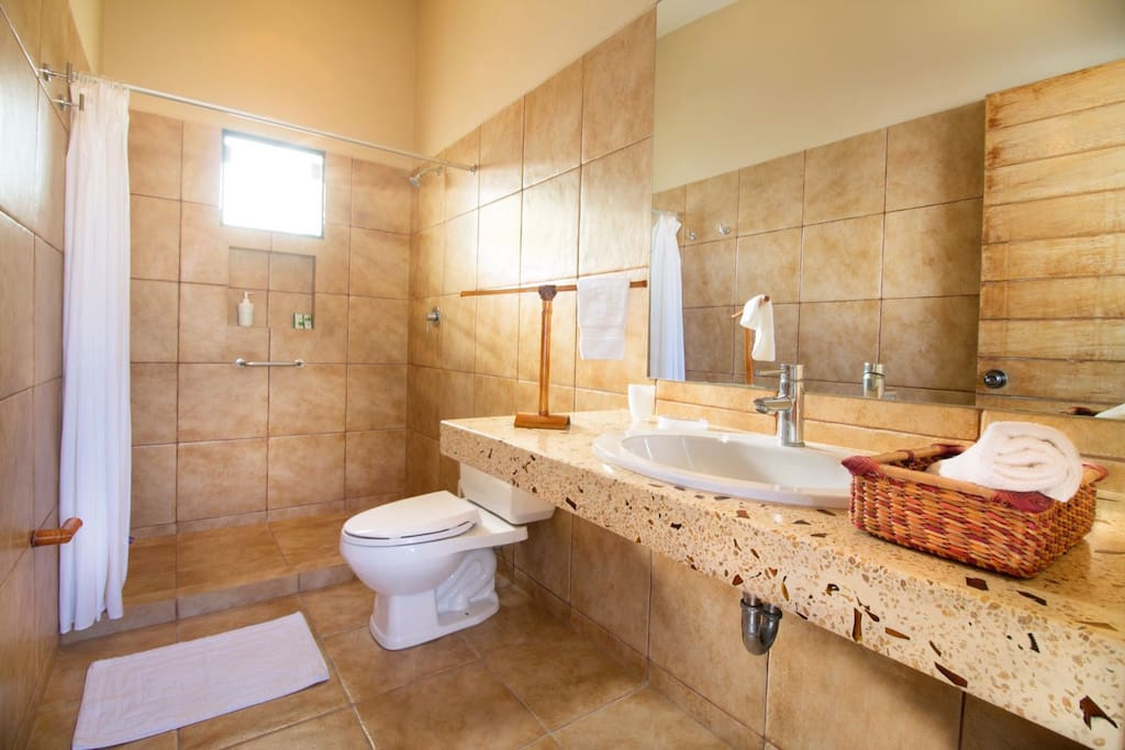 Bathroom with all your necessities