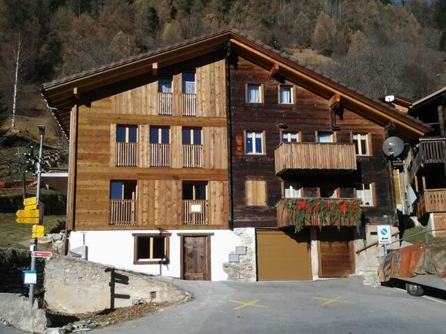 Charmante Wohnung im Bergbauernhaus