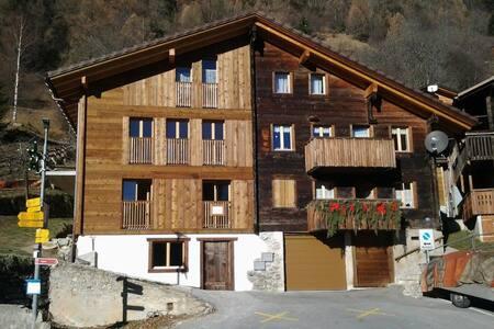 Charmante Wohnung im renovierten Bergbauernhaus