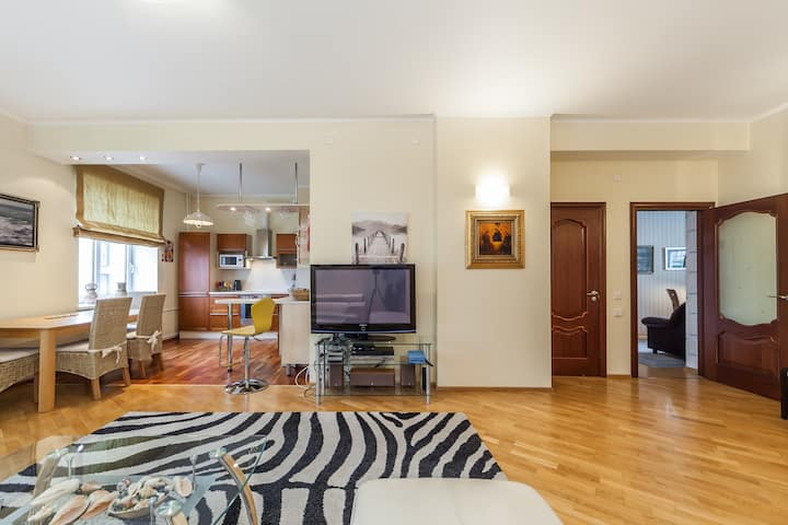 Apartment in city center of Tallinn with sauna.