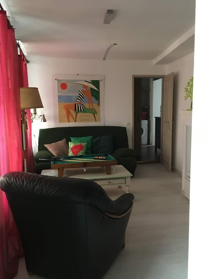 a lovely flat, right in the historical town center