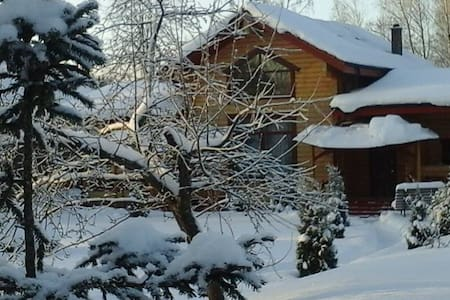 Дом баня в старинном русском стиле - Зеленоград - Huis