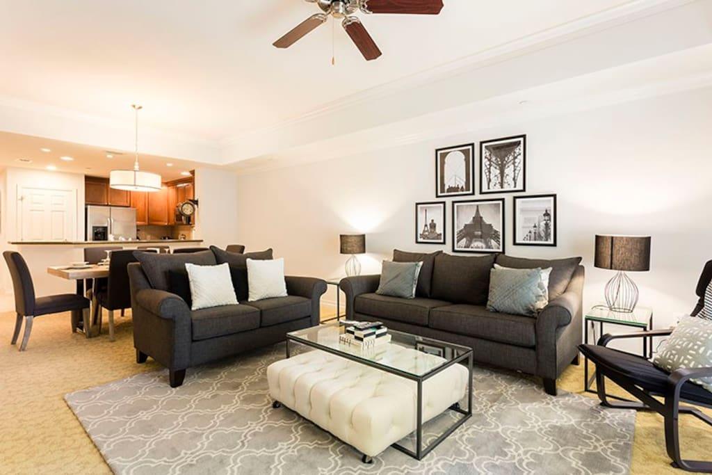 Newly furnished with Modern Touches