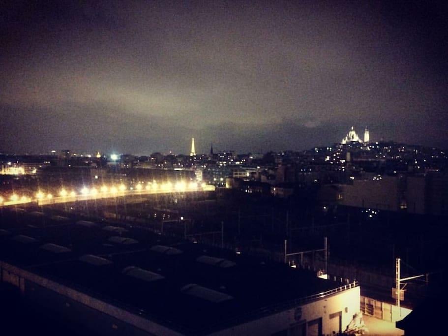 Vue la nuit