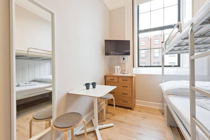 Twin Room - Dublin 1, North City Centre