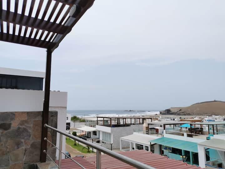 Alquilo casa de playa cerca al mar