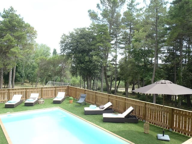 House with private pool - Villardonnel - Rumah