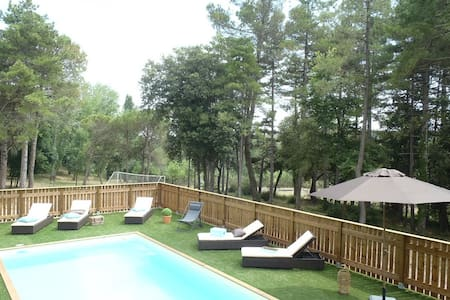 House with private pool - Villardonnel - Huis