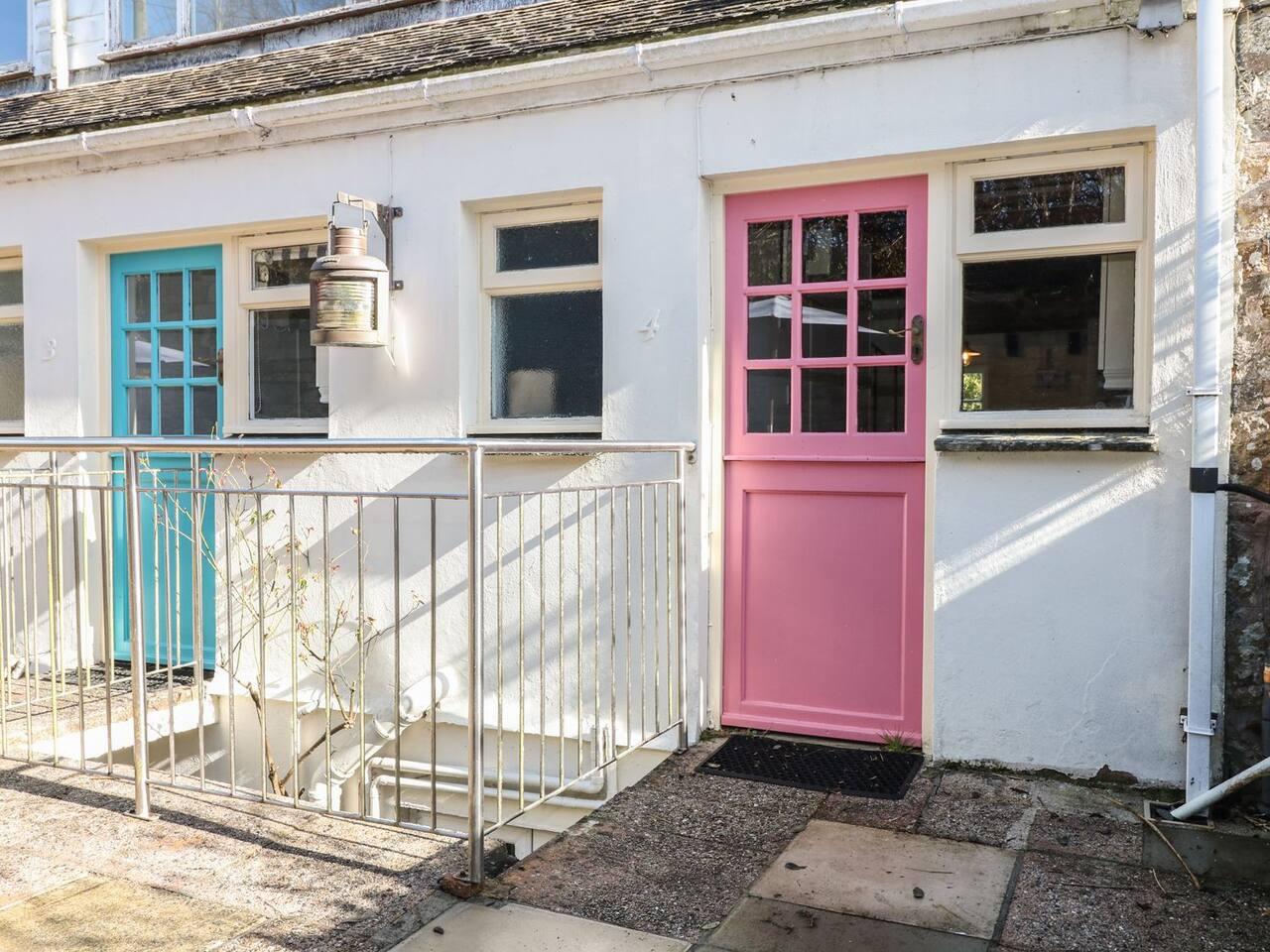 Cove Cottage Pink Front Door