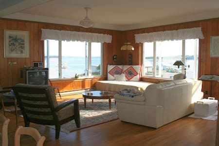 Perched on harbor/downtown w/ dock, kayaks & beach - Stonington