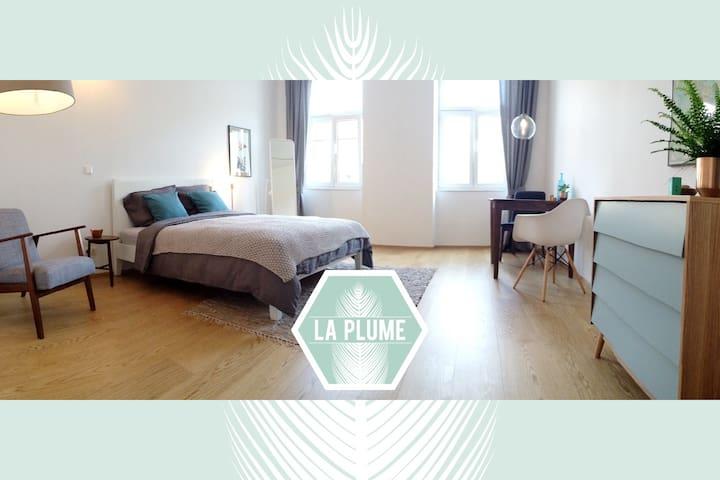 *La Plume* Unique Design Apartment near Augarten - Wiedeń - Apartament