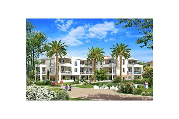 Les Allées du parc - Villeneuve-Loubet - Apartamento