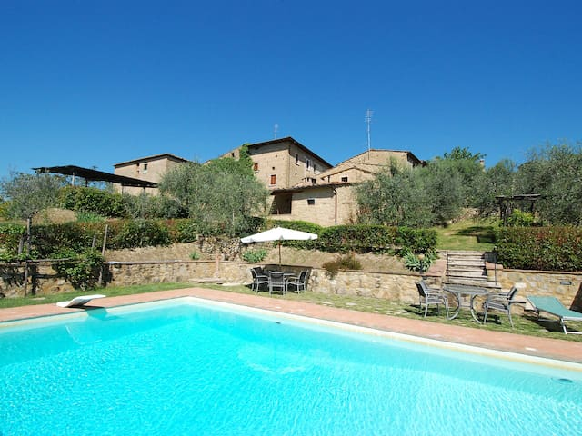 Holiday apartment Holes in Castellina in Chianti