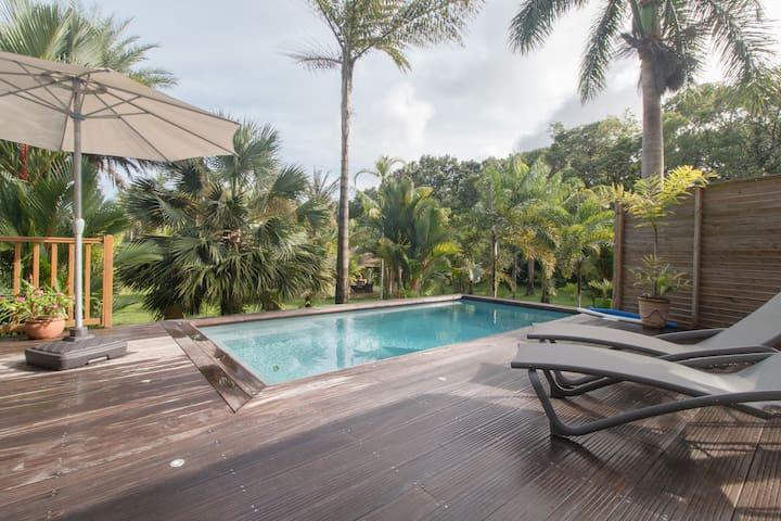"""La Villa Wodyétia"" - Le Marin - Huis"