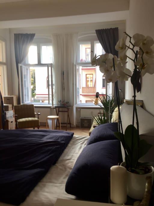Das Zimmer, Foto 2 (unmöbliert)