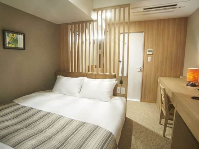 A revitalizing stay in Tokyo ! Non-smorking Deluxe-double room