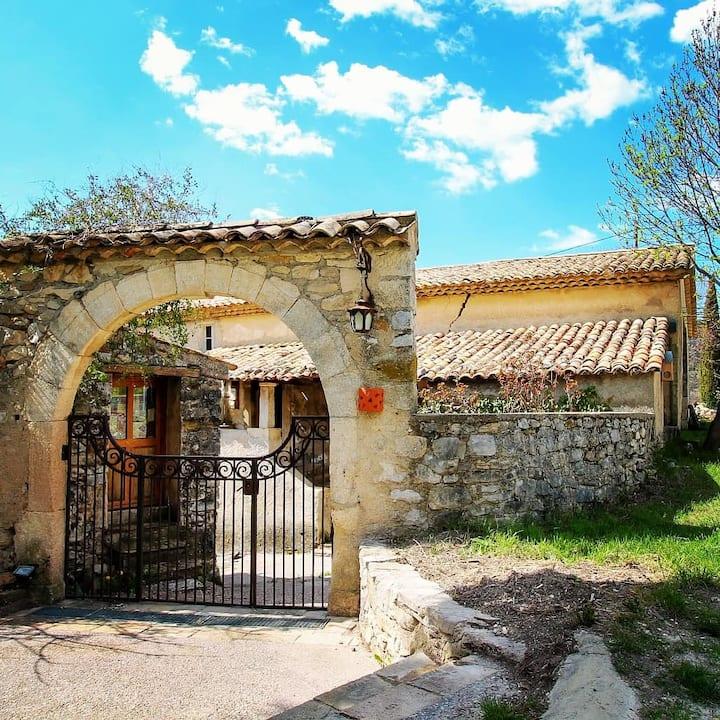 chambre d'hôte en Provence Mas de Reilhanette(5)