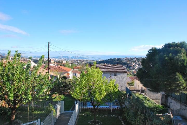 Logement sur les hauteurs de Marseille