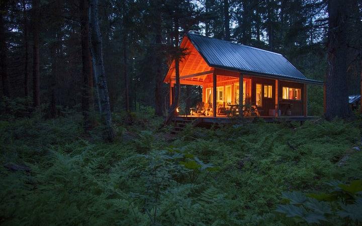 """The Cabins at Kenai Lake- """"Nabesna"""""""