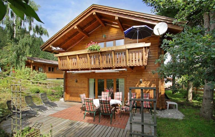 "Luxury Chalet ""Villa Rosa"" at Gartenhotel Rosenhof - Oberndorf in Tirol - บ้าน"