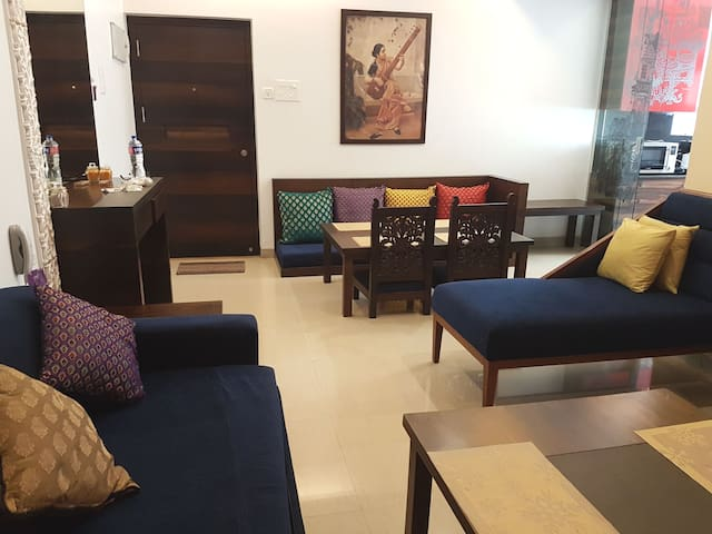 Luxurious 1BHK Apt near Baga and Anjuna Goa