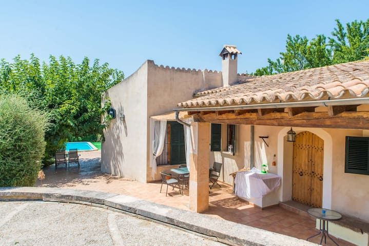 Holiday Cozy cottage Caseta Campanet with private pool
