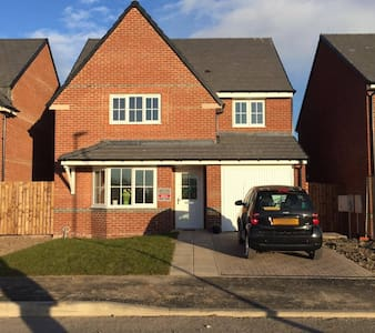 Comfortable rooms in a great location - Spennymoor - Haus
