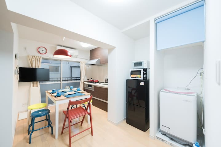 Colorful, cozy, and cool apt well located #FE16 - Daire