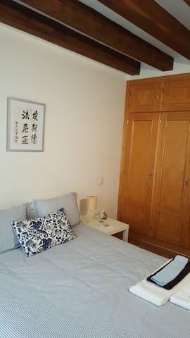 Beautiful and romantic 1-bedroom apartment.