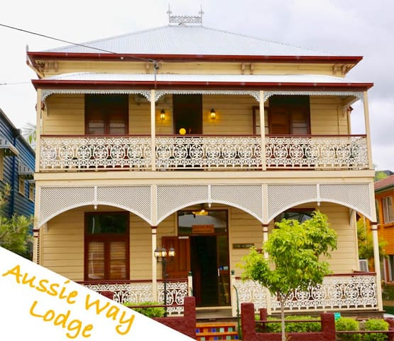 1 Bed in a 4 Beds Shared Dorm - Aussie Way Lodge