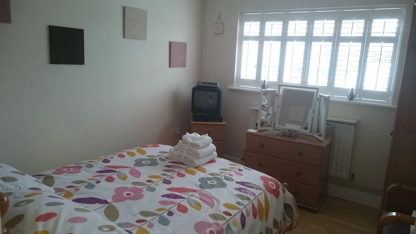 Double room with private bathroom and fridge. - Blofield - Wohnung