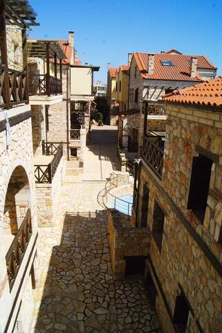 Vereniki stone house - Psakoudia - Daire