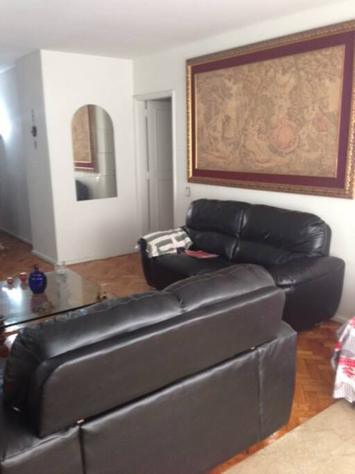 Living room with 2 sofa