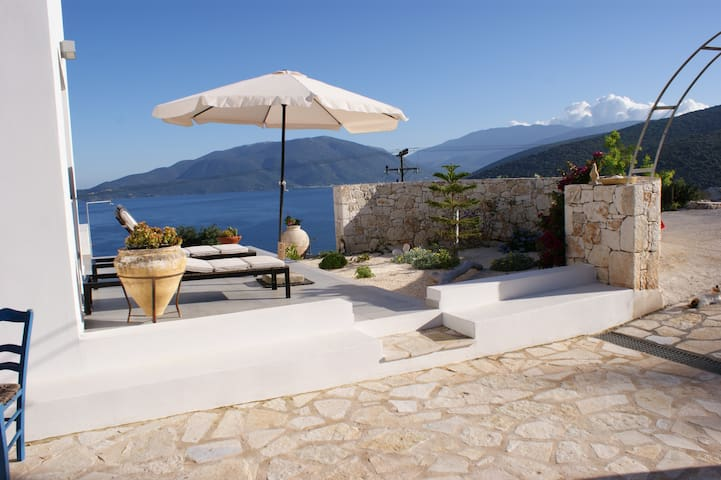 Luxury villa with private pool, panoramic sea view