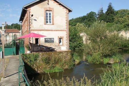 La CONCIERGERIE de Bodet - Saint-Laurent-sur-Sèvre - House