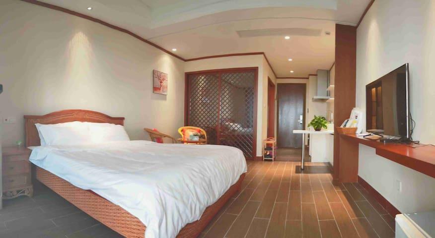 博鳌白金湾简约风格海景度假公寓
