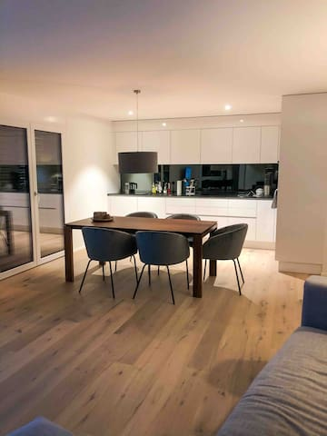 New modern 64sq meters flat, near airport Zurich
