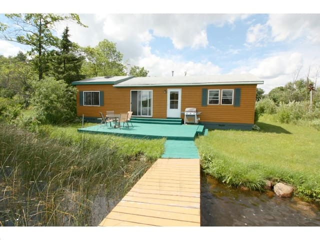 Cabin on the Lake for 7! 90 Mins North of Metro - Hillman - Cabane