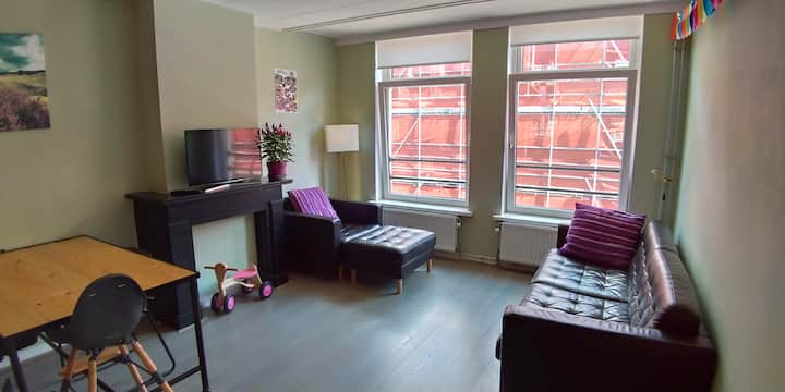Childfriendly,cosy apartment in Eastside Amsterdam