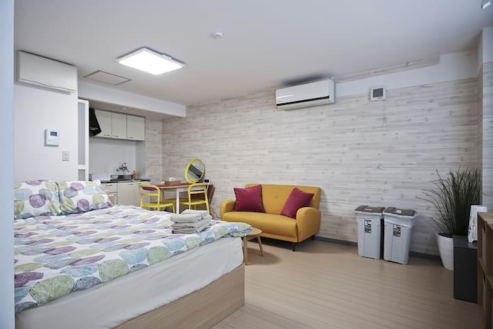"5min""Kanda"" Sta!Convenient and fashionable room#31"