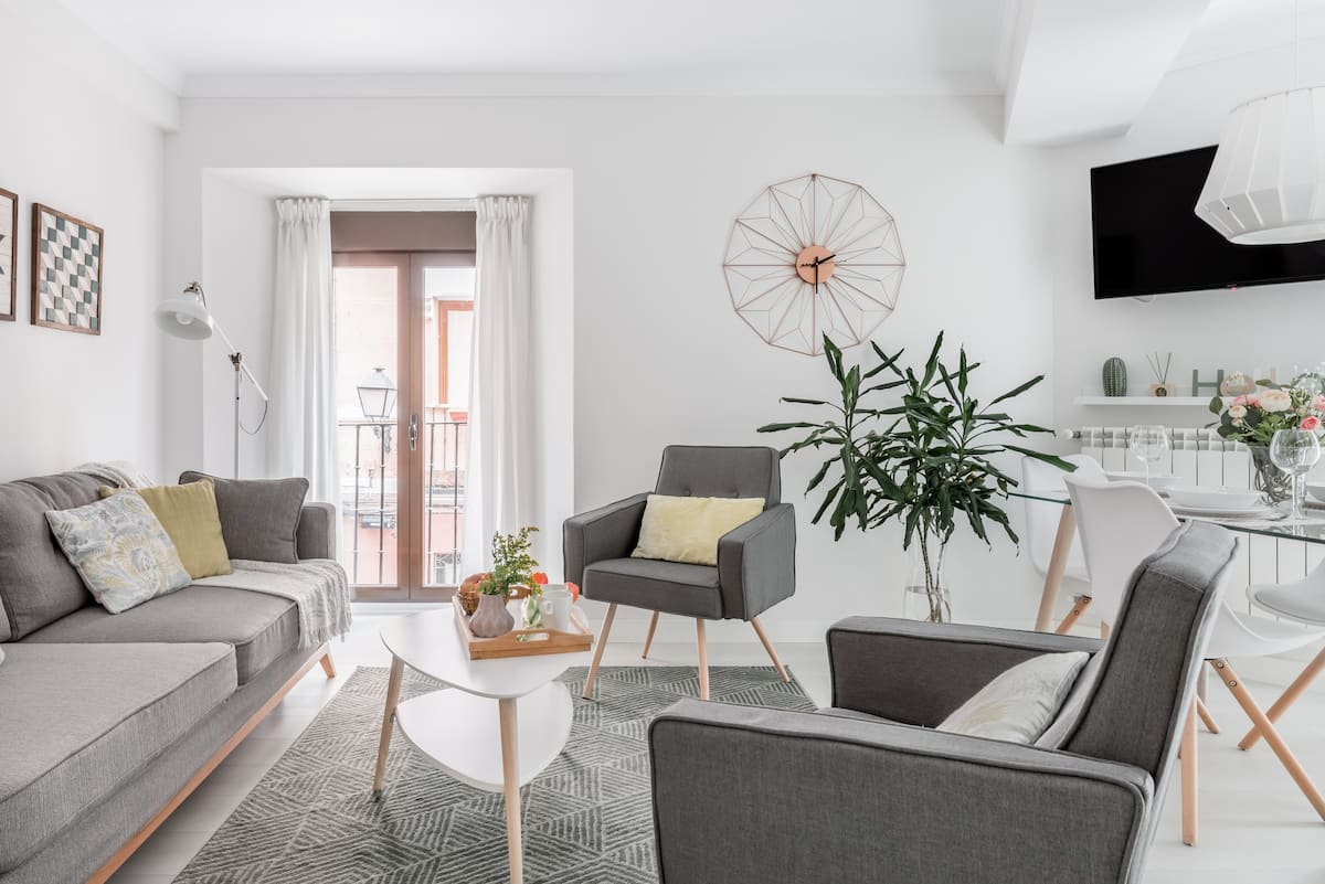 Moderno y luminoso apartamento en la Latina/Plaza Mayor