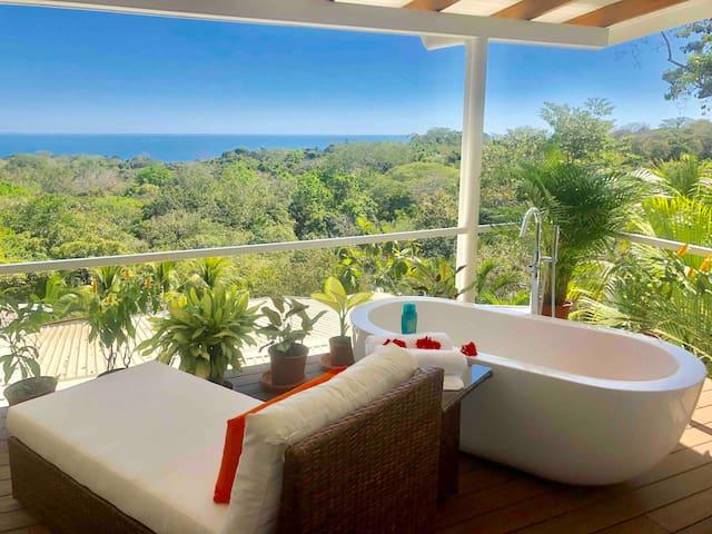 Chez Mu Luxury Ocean/Jungle View Villa - Montezuma